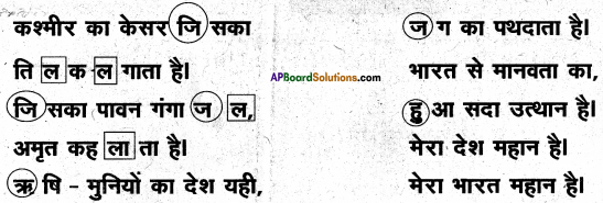 AP Board 6th Class Hindi Solutions Chapter 4 मेरा देश महान है 4