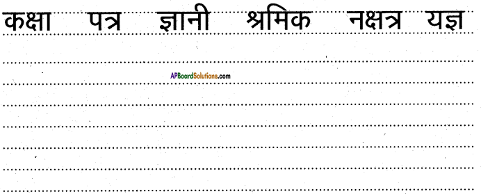 AP Board 6th Class Hindi Solutions Chapter 8 जन्म दिन 21