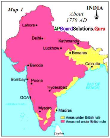 AP 7th Class Social Important Questions Chapter 15 Establishment of the British Empire in India 3