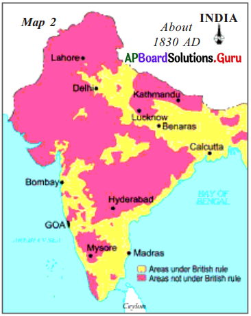 AP 7th Class Social Important Questions Chapter 15 Establishment of the British Empire in India 4