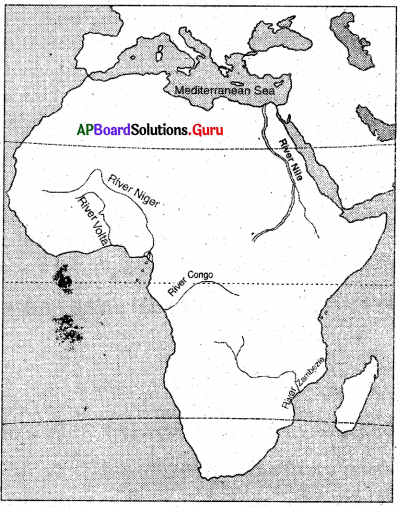 AP 7th Class Social Important Questions Chapter 6 Africa 3