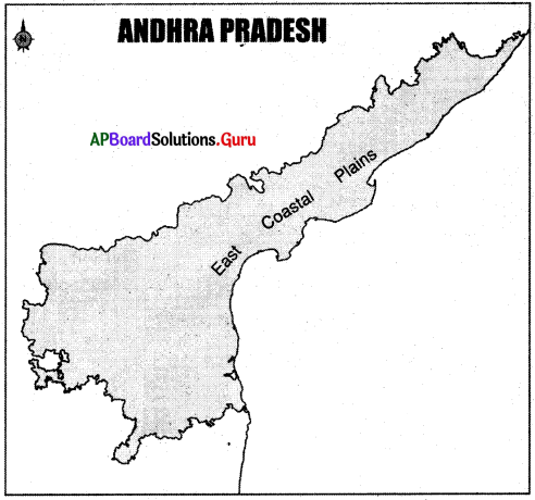 AP Board 6th Class Social Studies Important Questions Chapter 4 Land Forms – Andhra Pradesh 1