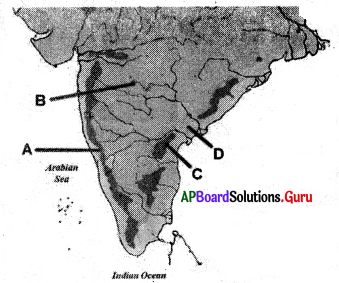 AP Board 6th Class Social Studies Important Questions Chapter 4 Land Forms – Andhra Pradesh 3
