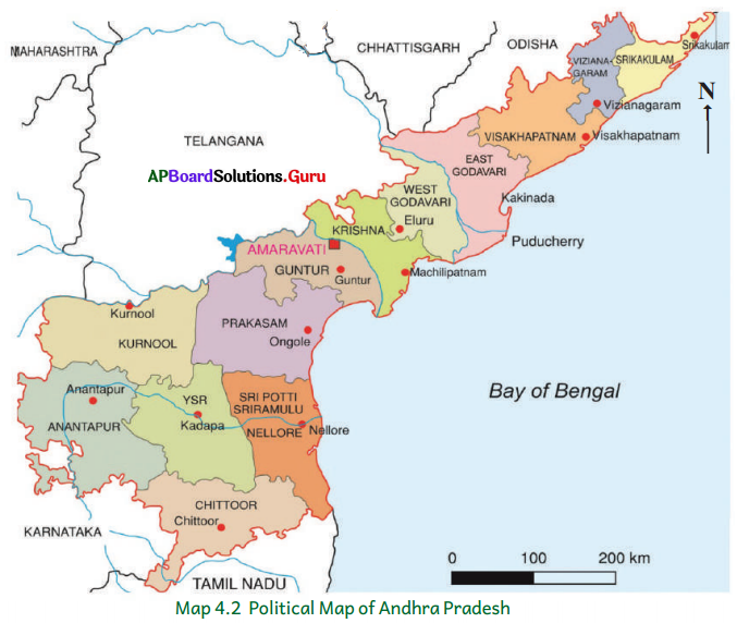 AP Board 6th Class Social Studies Important Questions Chapter 4 Land Forms – Andhra Pradesh 4