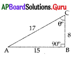 AP 10th Class Maths Bits Chapter 11 Trigonometry with Answers 22