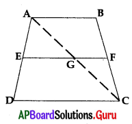 AP 10th Class Maths Bits Chapter 8 Similar Triangles with Answers 12