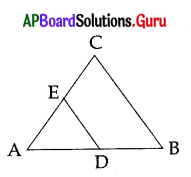 AP 10th Class Maths Bits Chapter 8 Similar Triangles with Answers 19