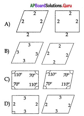 AP 10th Class Maths Bits Chapter 8 Similar Triangles with Answers 21