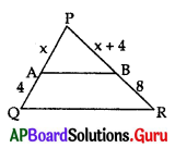 AP 10th Class Maths Bits Chapter 8 Similar Triangles with Answers 25