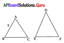 AP 10th Class Maths Bits Chapter 8 Similar Triangles with Answers 37