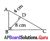 AP 10th Class Maths Bits Chapter 8 Similar Triangles with Answers 38