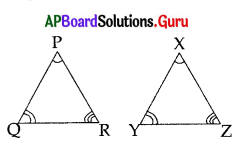 AP 10th Class Maths Bits Chapter 8 Similar Triangles with Answers 41
