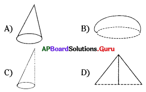 AP 7th Class Maths Bits Chapter 14 Understanding 3D and 2D Shapes with Answers 11