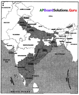 AP 9th Class Social Bits Chapter 6 Agriculture in India with Answers 1