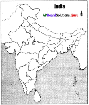 AP 9th Class Social Bits Chapter 6 Agriculture in India with Answers 2
