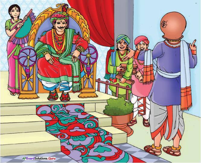 AP Board 6th Class English Solutions Chapter 1 Clever Tenali Ramakrishna 1